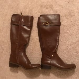 Tommy Hilfiger brown riding boots